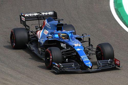 Alonso: Elégedett vagyok az új alkatrészekkel!