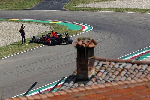 Bottas manda en la FP1 de Imola; Pérez tiene un contacto con Ocon