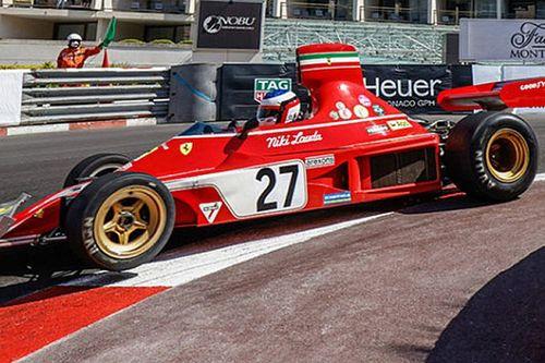 """""""フェラーリの""""アレジ、92年セナを彷彿とさせるディフェンスで奮闘も追突に泣く……モナコ・ヒストリックGP"""