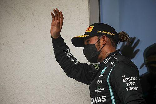 """Hamilton: """"Startta tek başıma olmak çok tuhaftı"""""""