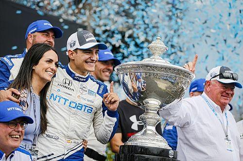 Палоу стал чемпионом IndyCar, гонку выиграл Херта