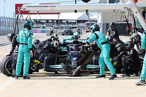 Cómo la primer parada de Hamilton en Austin debió ser en el giro 8