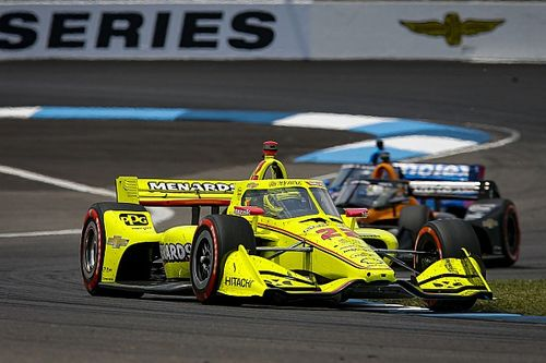 "Pagenaud drove GP Indy ""with the lion's spirit"""