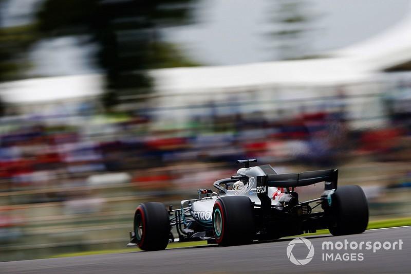 Fotogallery: Lewis Hamilton domina il venerdì di Suzuka