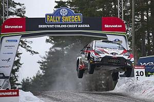 Galería: los vuelos más espectaculares del Rally de Suecia en Colin's Crest