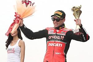 """L'entusiasmo di Bautista per il trionfo Ducati: """"A Buriram vittoria importante"""""""