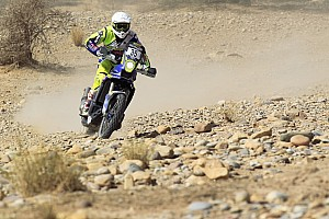 Cross-Country Rally Leg report Morocco Rally, Leg 5: TVS Sherco's Aravind shines, Santosh fights back