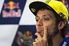 Rossi shoulders blame for Austin shunt