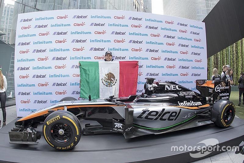 Sergio Pérez se considera tan bueno como los pilotos de punta