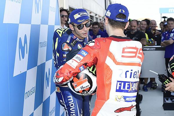 MotoGP Actualités Rossi dit comprendre l'épisode