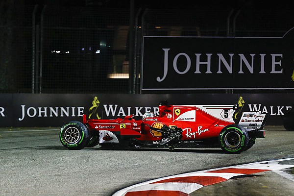 Formula 1 Breaking news Ferrari discovers Vettel's Singapore engine still useable