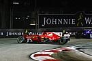 Формула 1 Мотор Феттеля избежал повреждений в Сингапуре