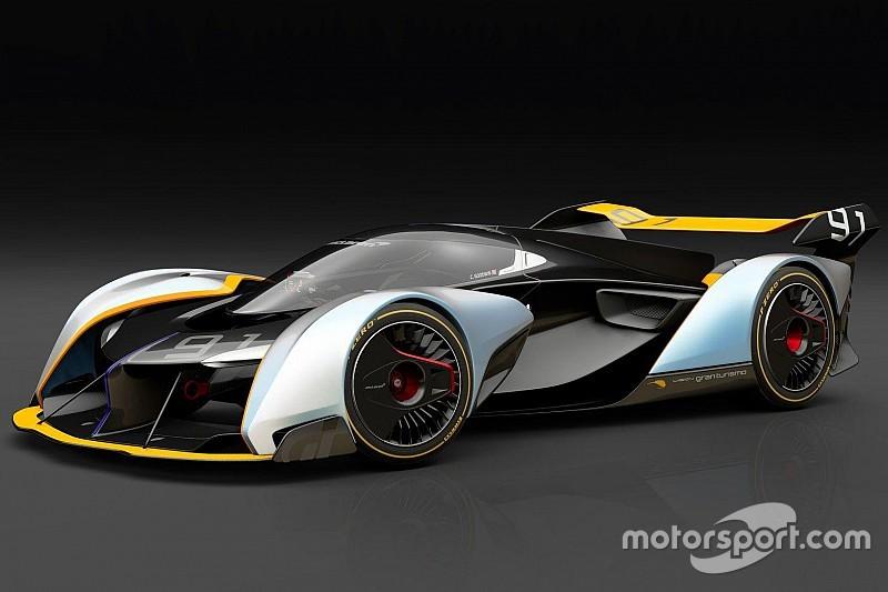 GTSport'ta yer alacak McLaren Ultimate Vision GT