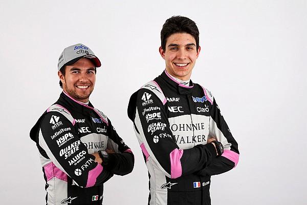 Stop/Go Livefeed Hivatalos képeken a Force India rózsaszín szerelése