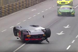 GT Race report GT World Cup: Vanthoor declared winner after massive airborne crash