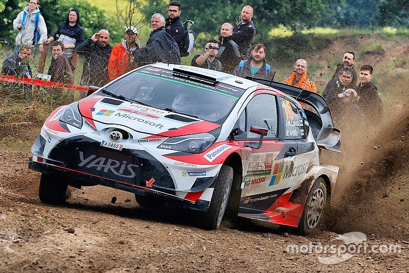 Poland WRC: Latvala leads four-way battle on Friday morning
