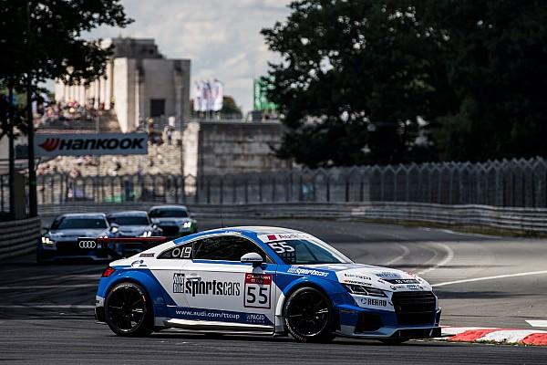 Egyéb autósport Audi TT Cup: Vettel eldobta a dobogót, Keszthelyi pontszerző