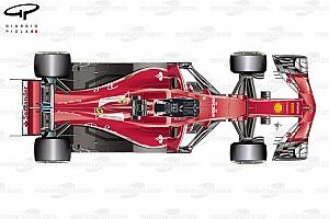 Formel 1 Analyse Formel-1-Technik: Das Geheimnis hinter dem Ferrari-Aufschwung 2017