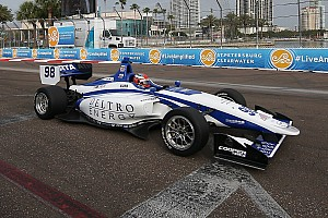 Indy Lights Gara Colton Herta vince gara 2 a St. Petersburg davanti ad Urrutia