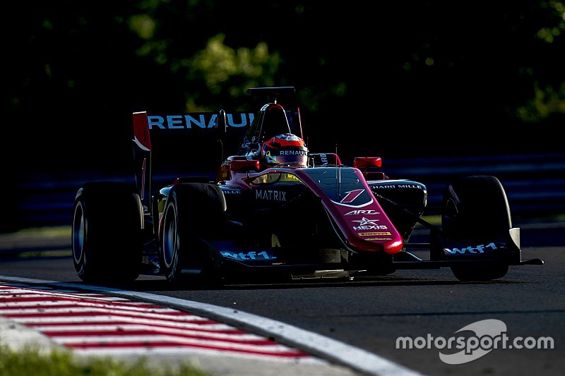Jack Aitken centra la seconda pole stagionale all'Hungaroring