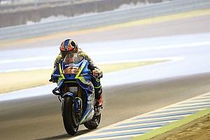 MotoGP Breaking news Suzuki trials new 'moustache' fairing in Motegi practice