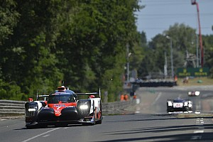 Le Mans Breaking news Toyota fears major straightline speed deficit to privateer LMP1s