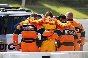 IndyCar Son dakika Kazada 139G kuvvete maruz kalan Hunter-Reay Pocono'da yarışacak