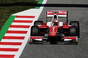 FIA F2 Qualifying report F2 Barcelona: Leclerc kembali raih pole, Gelael start ke-17