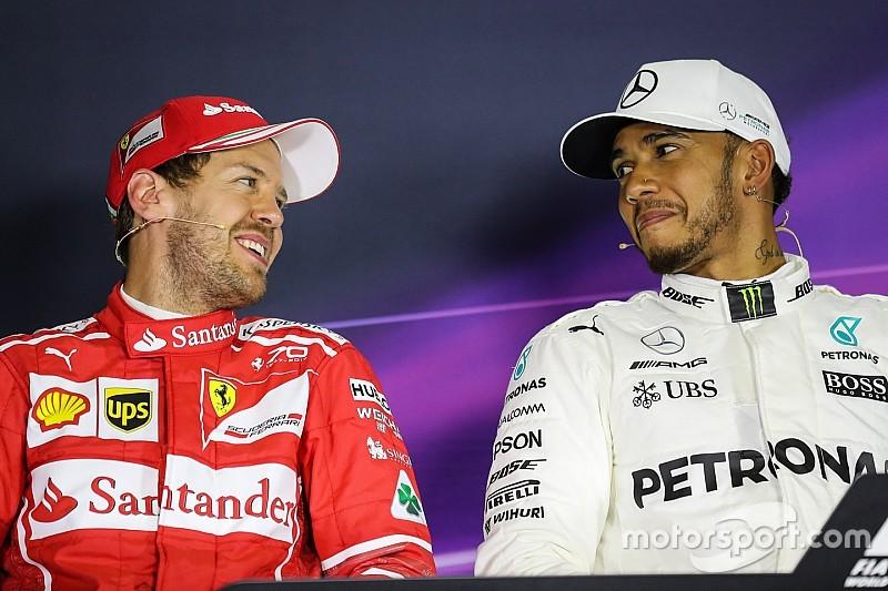 F1-Thriller in Barcelona 2017: Das sagen Hamilton und Vettel