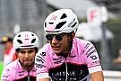 Rózsaszín biciklikre váltottak a Force India versenyzői