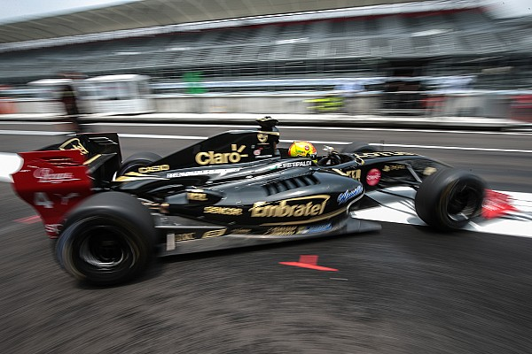 Celis arrancará cuarto en la primera en México y Fittipaldi en la pole