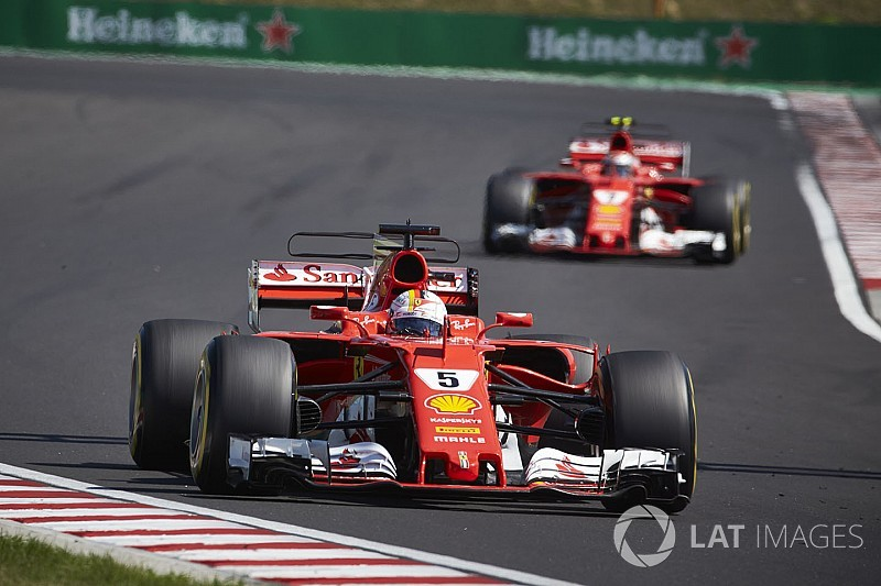 """Vettel: Rivals copying Ferrari F1 designs """"a good sign"""""""