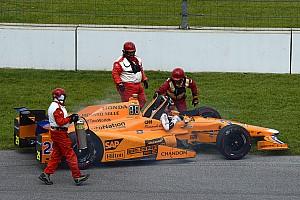 IndyCar News Ausfall von Fernando Alonso beim Indy 500: Honda findet Fehler