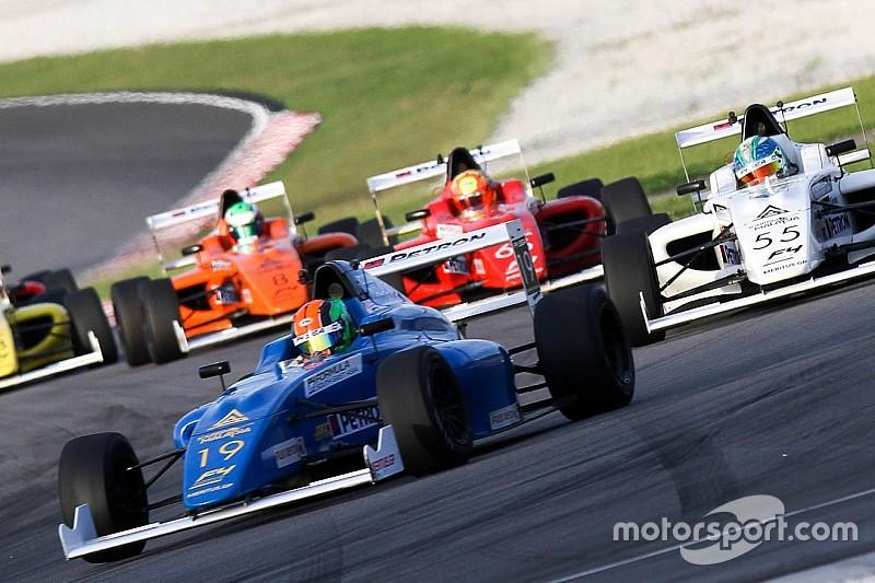Kurios: Kein Auto im Ziel bei Formel-4-Rennen in Sepang