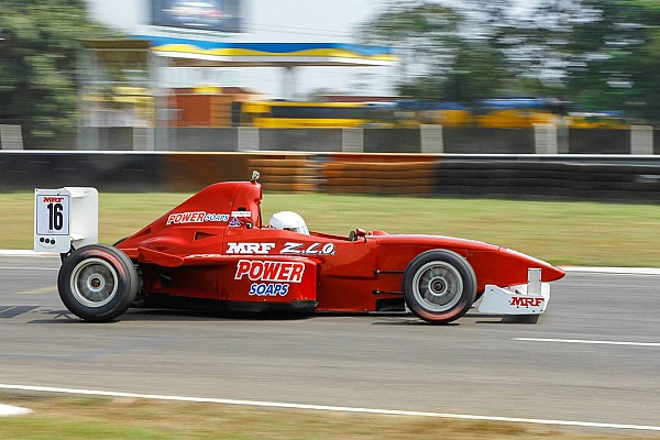 Tharani wins shortened first F1600 race