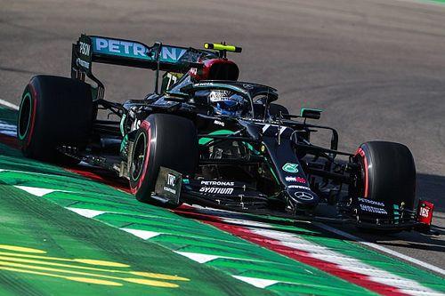 Bottas op pole, Verstappen overleeft technisch probleem voor P3
