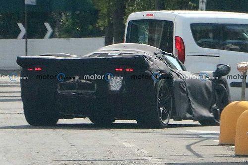 New Ferrari Icona spy shots show off 330 P4 race car-style looks
