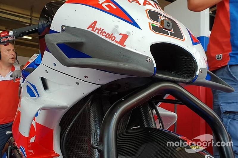 Ducati in Brünn: Petrucci testet radikale Aero-Verkleidung