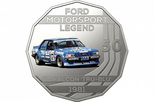 Legendary Supercars immortalised on special Aussie coins