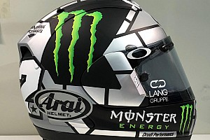 Viñales présente son nouveau casque pour la saison 2019