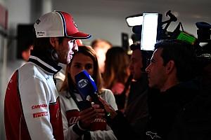 """Giovinazzi: """"Finalmente è Natale per me: Kimi mi aiuta a conoscere l'Alfa"""