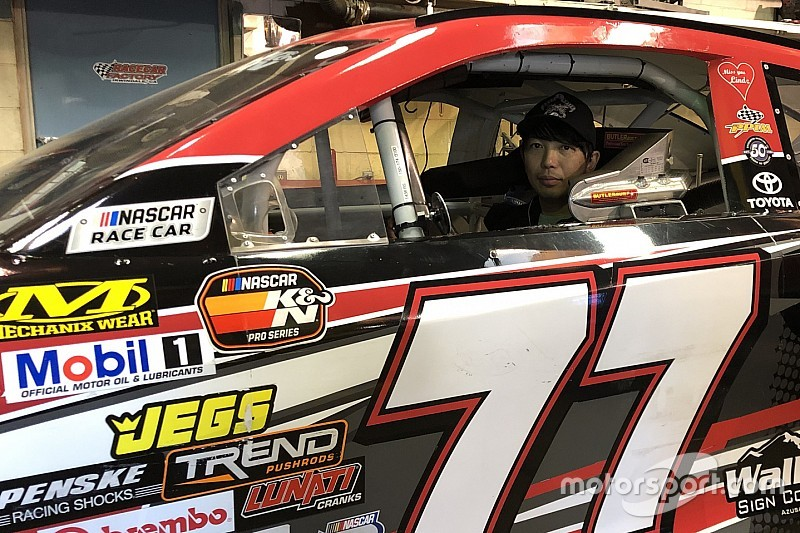 Japanese driver Takuma Koga to compete for 2019 K&N West title