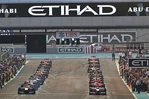 Abu Dhabi, F1 takviminin son yarışı olmaktan memnun