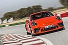 Automotive Primera prueba del Porsche 911 GT3 PDK 2017