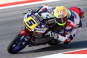 Moto3 Relato da corrida Fenati vence prova acidentada em Misano com diferença de 28s