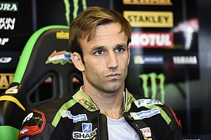 MotoGP Reactions Zarco bersyukur bisa mendorong motor sampai finis