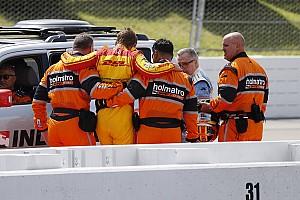 IndyCar Qualifyingbericht Schwerer Unfall überschattet IndyCar-Qualifying in Pocono