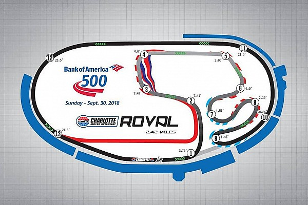 Monster Energy NASCAR Cup Testverslag Video: NASCAR tovert oval om tot circuit voor Playoffs 2018