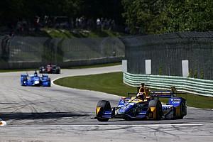IndyCar Noticias de última hora Rossi no asume la responsabilidad por percance con Kanaan en Road America