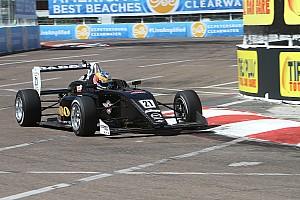 USF2000 Raceverslag USF2000 St Petersburg: Debuterende Van Kalmthout pakt dubbel podium